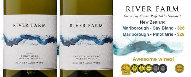River Farm Sauvignon Blanc, Marlborough