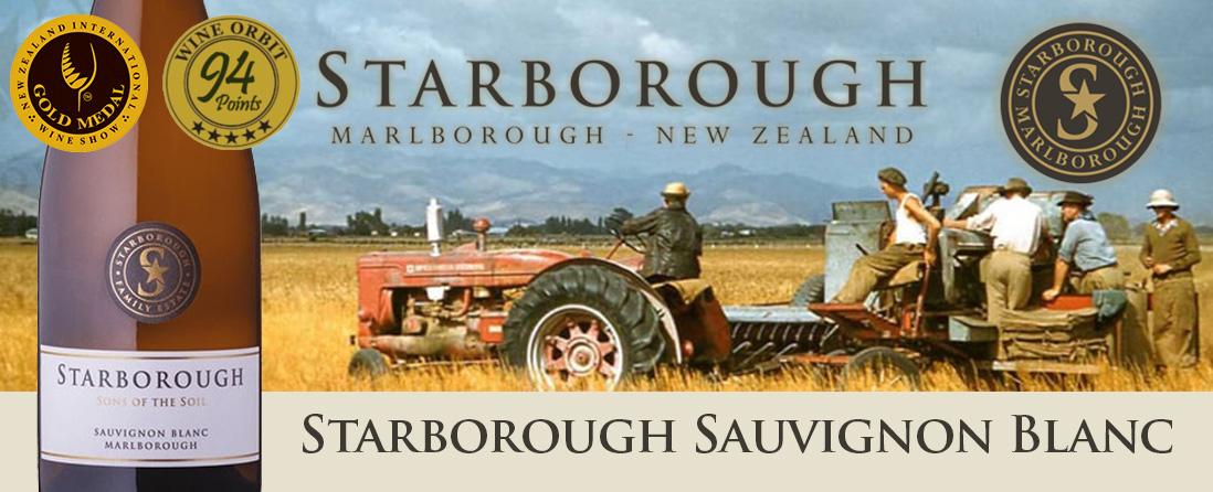 Starborough 'Family Estate' Sauvignon Blanc, Marlborough, New Zealand